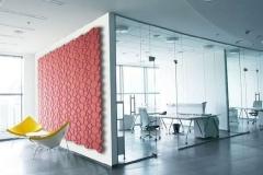 Настенные 3D панели из пробки Beehive Bordeaux