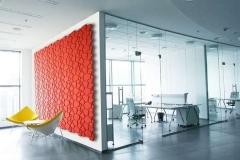 Настенные 3D панели из пробки Beehive Red