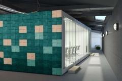Настенные 3D панели из пробки Chock Emerald